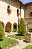 Cloister at La Foresta Franciscan monastery , Rieti Royalty Free Stock Photography