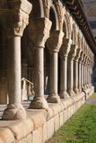 Cloister of La Seu de Urgell Royalty Free Stock Photography