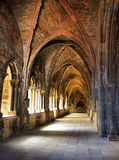 Cloister of Lisbon cathedral Royalty Free Stock Photo