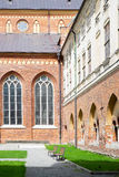 Cloister of Lutheran Cathedral in Riga, Latvia Stock Photos