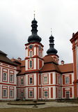 Cloister Marianska Tynice - Czech Republic. Cloister Marianska Tynice royalty free stock photos