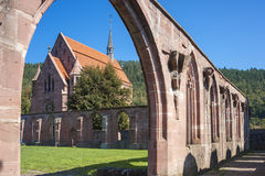 Cloister and Marien-chapel in the monastery of Hirsau Stock Images
