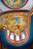 Cloister of Mercy. Holy Trinity Abode of Mercy, Saraktash settlement. Kind inside Stock Photo