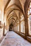 Cloister of Monastery of Santa Maria de Santes Creus Stock Photography