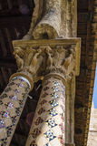 Cloister of the Monreale Abbey, Palermo Royalty Free Stock Photo