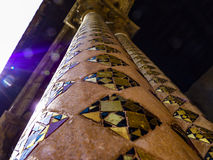 Cloister of the Monreale Abbey, Palermo Stock Photography