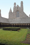 Cloister Mont Saint Michel Royalty Free Stock Photos