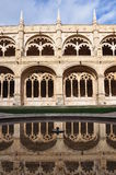Cloister in Mosteiro dos Jeronimos, Lisbon Royalty Free Stock Images