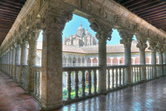 Cloister of the owners, Salamanca, Spain Royalty Free Stock Photography