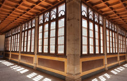 Cloister of palace Royalty Free Stock Images