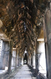 Cloister in a part of Angkor Thom Stock Image