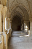 Cloister of Poblet Royalty Free Stock Images