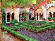 cloister provence Royaltyfri Bild