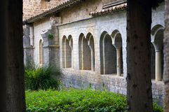 Cloister. Royalty Free Stock Images