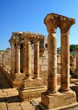 Cloister ruins of Santa Clara Velha royalty free stock images