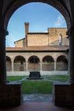 The cloister of S. Francesco Stock Photo