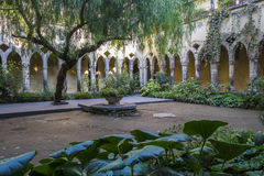 Cloister of Saint Francis of Assisi in Sorrento  3 Royalty Free Stock Image