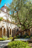 Cloister of Saint Francis, Sorrento Royalty Free Stock Photo