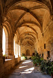 Cloister of San Benito convent Stock Photo