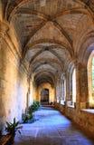 Cloister of San Benito convent Stock Photos
