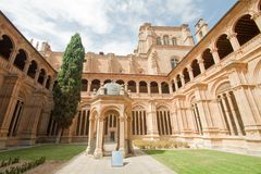Cloister of San Esteban - Salamanca Stock Images