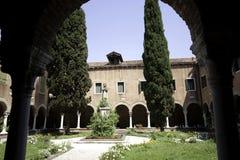 Cloister of San Francesco Della Vigna Stock Photography