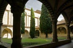 Cloister in Santa Maria Novella royalty free stock image