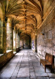 Cloister of Sao Goncalo monastery Royalty Free Stock Image
