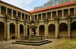 Cloister of Sao Goncalo monastery Royalty Free Stock Photos