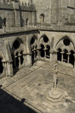 Cloister of Se Cathedral. In Porto, Portugal Royalty Free Stock Photos
