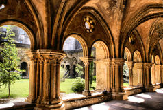 Cloister of Se Velha royalty free stock photo