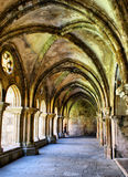Cloister of Se Velha stock photography
