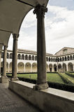 Cloister of St. Domenico Church. Perugia. Umbria. Royalty Free Stock Images