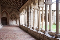 Cloister of St. Emilion Stock Photo