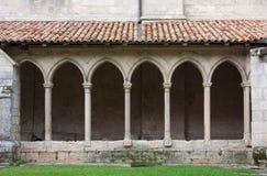 Cloister of St. Emilion Royalty Free Stock Photo