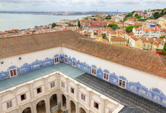 Cloister of St. Vincent Outside the Walls, Lisbon Royalty Free Stock Image
