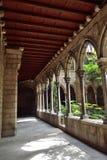 Cloister of sta's Anna church. Cloister of the church of Santa Ana, Barcelona Stock Photography