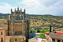 Cloister. Toledo. Spain royalty free stock images