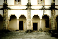 Cloister in Tomar Convent Stock Photography