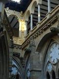 cloister veruelaen arkivfoton