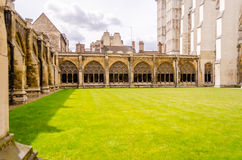 Cloister of the Westminster Abbey, London Royalty Free Stock Photography