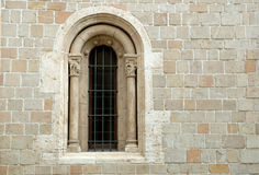 Cloister window Royalty Free Stock Photography
