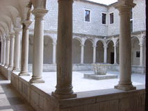 Cloister in Zara Stock Photos