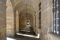 Cloistered Passage Royalty Free Stock Images