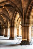 The University of Glasgow Cloisters stock photos