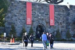 Cloisters, część Wielkomiejski muzeum sztuki w Nowy Jork, fotografia royalty free