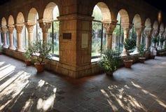 cloisters jarda Zdjęcie Royalty Free