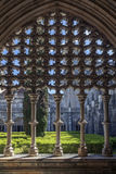 Cloisters in the Monastery of Batalha Stock Photography