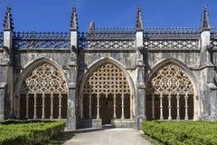 Cloisters - Monastery of Batalha - Portugal Stock Photo