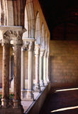 The Cloisters in New York. Column details at the Cloisters in New York Royalty Free Stock Photography
